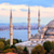 blue mosque and bosporus panorama istanbul turkey stock photo © xantana