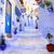 utca · kék · város · épület · otthon · festék - stock fotó © Xantana