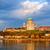 basílica · Hungria · cidade · norte · direito · banco - foto stock © xantana