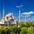 azul · mesquita · istambul · nuvens · paisagem · linha · do · horizonte - foto stock © Xantana