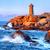 deniz · feneri · gün · batımı · plaj · ışık · turuncu - stok fotoğraf © xantana