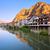 ウィンドウ · 表示 · 山 · 川 · 旅行 · グリーティングカード - ストックフォト © xantana
