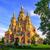 русский · православный · Церкви · здании · крест · архитектура - Сток-фото © xantana