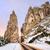 bizarro · rochas · montanhas · Bélgica · entrada · cidade - foto stock © Xantana