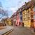 színes · házak · középkori · város · kicsi · kerület - stock fotó © Xantana