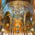 Golden mosaics in La Martorana church, Palermo, Italy stock photo © Xantana