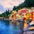 garfo · pôr · do · sol · mediterrânico · céu · verão · azul - foto stock © xantana