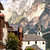dağlar · panoramik · görmek · Avusturya · gökyüzü · manzara - stok fotoğraf © xantana