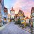 Colorful half-timbered houses in Rothenburg ob der Tauber, Germa stock photo © Xantana
