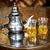 セット · アラビア語 · ミント · 茶 · 金属 · ポット - ストックフォト © Xantana