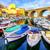 小 · 釣り · ボート · 港 · かわいい · 水 - ストックフォト © xantana