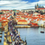 panorama of prague with the castle charles bridge vltava river stock photo © xantana