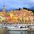 marina · színes · középkori · város · francia · hajók - stock fotó © Xantana