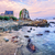 atlantic beach on the pink granite coast brittany france stock photo © xantana