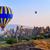 hőlégballon · repülés · bizarr · kő · tájkép · jókedv - stock fotó © Xantana