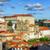 oude · binnenstad · straat · Portugal · kathedraal · stad - stockfoto © xantana