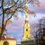 catedral · jardim · panorama · flor · amarela · Londres · inglaterra - foto stock © xantana