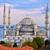 blue mosque and bosporus istanbul turkey stock photo © xantana