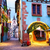 colorful town of riquewihr alsace france stock photo © xantana