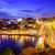 nacht · Portugal · mooie · oude · binnenstad · water - stockfoto © xantana