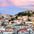 lisbon portugal view to the alfama quarter and st jorge castle stock photo © xantana