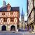 cidade · velha · torre · igreja · cidade · arte · azul - foto stock © Xantana