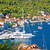 island of vis yachting bay aerial view stock photo © xbrchx