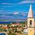 idyllique · bord · de · l'eau · village · panoramique · vue - photo stock © xbrchx