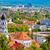 city of ljubljana architecture and green landscape stock photo © xbrchx