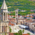 kuşlar · kare · Prag · katedral · yaz - stok fotoğraf © xbrchx