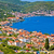 island of vis bay aerial view stock photo © xbrchx