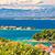 idyllique · ville · bord · de · l'eau · vue · archipel - photo stock © xbrchx