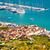 view · Croazia · città · vecchia · fortezza · costruzione · città - foto d'archivio © xbrchx