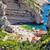 stinva bay beach on vis island stock photo © xbrchx