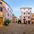 stone square of groznjan village stock photo © xbrchx