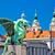 dragon bridge and landmarks of ljubljana view stock photo © xbrchx