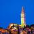 town of rovinj landmark evening view stock photo © xbrchx