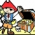 pirate with treasure chest stock photo © xochicalco