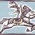 circo · cavalo · imagem · arte · cortina · animal - foto stock © xochicalco