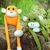 tricotado · solitário · macaco · símbolo · ano · 2016 - foto stock © xuanhuongho