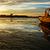 gündoğumu · tekne · plaj · iskele · gökyüzü - stok fotoğraf © xuanhuongho