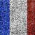 France Flag color grass texture background stock photo © yanukit