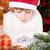 funny child in santas hat stock photo © yaruta