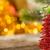 árvore · de · natal · decorações · luzes · vermelho · branco · fundo - foto stock © yaruta