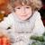 Smiling child with Christmas candles stock photo © Yaruta