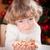 Happy child holding cookies stock photo © Yaruta