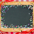 vintage wooden blackboard with confetti stock photo © yaruta