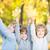 dzieci · jesienią · parku · szczęśliwy · klon · pozostawia - zdjęcia stock © Yaruta