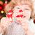 Happy child holding decorations stock photo © Yaruta
