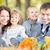 szczęśliwą · rodzinę · jesienią · parku · piknik · odkryty · zamazany - zdjęcia stock © Yaruta